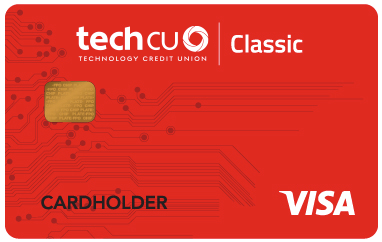 Tech CU Visa Classic Credit Card
