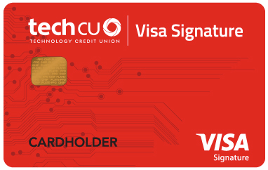 Tech CU Visa Signature Credit Card